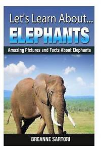 Elephants: Amazing Pictures and Facts about Elephants by Sartori, Breanne