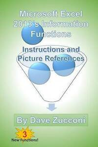 Microsoft Excel 2013's Information Functions Instructions Pi by Zucconi Dave