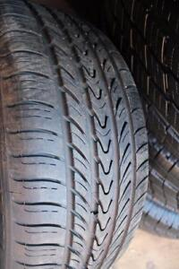ONE only 195/55/15 MICHELIN ALL SEASON TIRES on RIMS 4x100mm