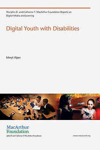 Digital Youth with Disabilities, Meryl Alper