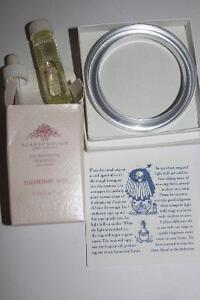 Metal Scent Ring for a Lamp with bottle of Fragrance