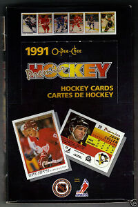1990-91 OPC PREMIER ..... hockey cards .... unopened box