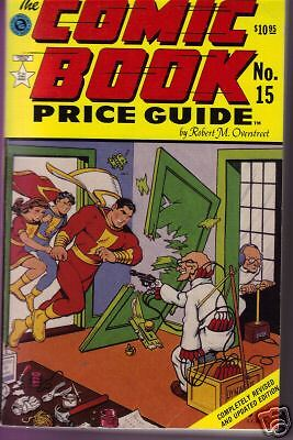 Overstreets Comic Book Price Guide #15  1st p.