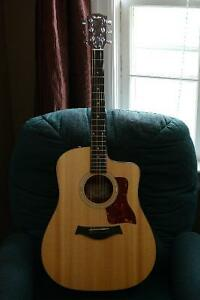 Taylor 110 CE with Case