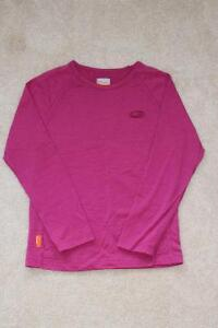 Kids Size 7/8 Icebreaker Base Layer Top - 200