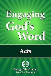 Engaging God's Word: Acts by Community Bible Study -Paperback