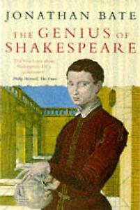 The Genius of Shakespeare, Bate, Jonathan Paperback Book