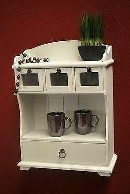 k chenregal antik ebay. Black Bedroom Furniture Sets. Home Design Ideas