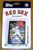2007 Topps Red Sox Team Set