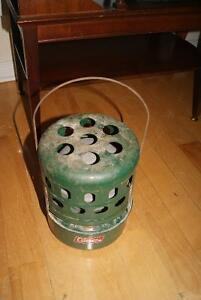 Vintage Coleman camping heater
