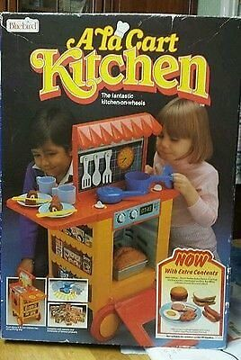 Vintage A La Carte Kitchen From Bluebird Toys 1980s In