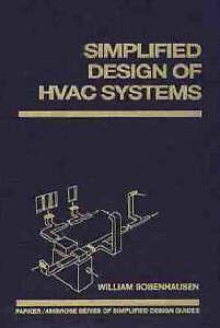 Simplified Design of HVAC Systems, William Bobenhausen