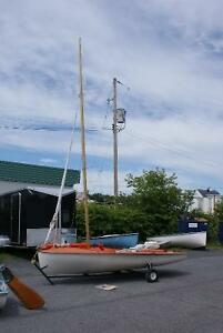 Several sailboats for sale including 2 lasers and 1 laser 420