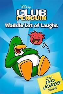 Disney's Club Penguin - Waddle Lot of Laughs Joke Book (Paperback, 2009)