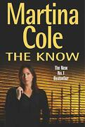 Martina Cole Hardback Books