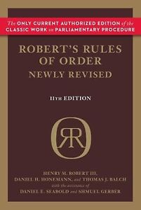 ... > See more Robert's Rules of Order by Henry M. Iii Robert
