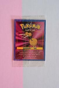 Carte POKEMON 1999.