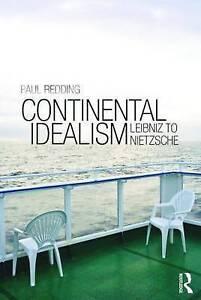 Continental Idealism, Redding, Paul, Good, Paperback