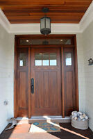 Fire-rated Residential - metal - commercial - door installation