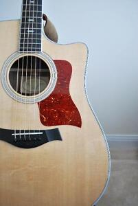 MINT TAYLOR 410CE, HARDSHELL CASE, LIFETIME WARRANTY