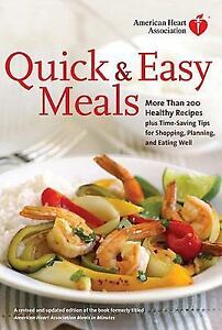 Details about American Heart Association Quick & Easy Meals: More Than ...