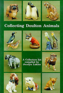 COLLECTING DOULTON ANIMALS Figures BOOK Jocelyn Lukins Figurines Models Antiques