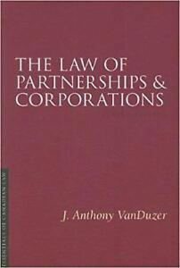 The Law of Partnerships and Corporations 3rd Edition