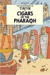 TINTIN - Cigars Of The Pharaoh - BRAND NEW BOOK
