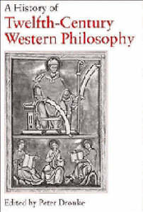 A History of Twelfth-Century Western Philosophy, Good Condition Book, , ISBN 978