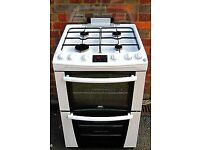 zanussi gas cooker with double oven