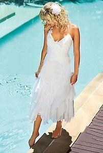 Stunning Beach or Summer Wedding Dress