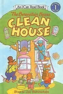 The Berenstain Bears Clean House (I Can Read Books: Level 1) by Stan Berenstain