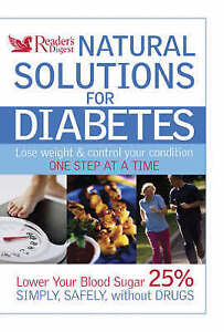VARIOUS, Natural Solutions for Diabetes (Readers Digest), Very Good Book