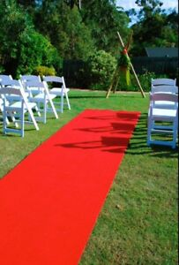 For Hire! Red Carpet, White Carpet, Seagrass Runner, Antique Mat. Berkeley Vale Wyong Area Preview
