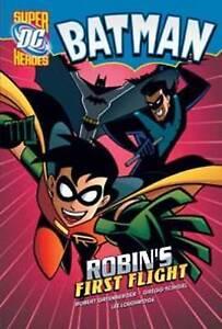 Robin's First Flight (Batman), Schigiel, Gregg, Greenberger, Robert, New Book