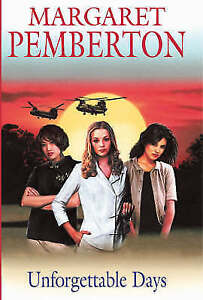 """VERY GOOD"" Pemberton, Margaret, Unforgettable Days (Severn House Large Print),"
