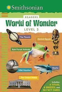 Smithsonian Readers: World of Wonder Level 3 by Scott-Royce, Brenda -Hcover