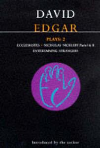 Edgar Plays 2 (Methuen World Dramatists)-ExLibrary
