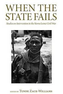 Zack-Williams-When The State Fails  BOOK NEW