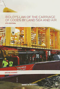 Ridley's Law of the Carriage of Goods by Land, Sea and Air-ExLibrary