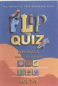 Very Good, Flip Quiz Animals: Age 7-9 Years, Brewer, Duncan, Book