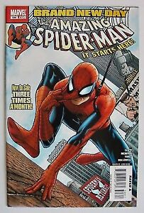 Comic #546 The Amazing Spider-Man Brand New Day 2008