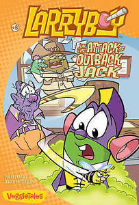 Larryboy in the Attack of Outback Jack by Kent Redeker, Doug Peterson...