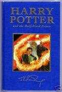 Harry Potter and The Half Blood Prince First Edition