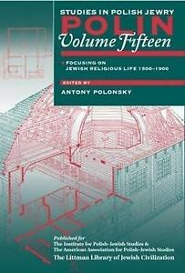 NEW Polin: Studies in Polish Jewry by Antony Polonsky