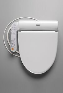 TOTO SW502-01 B100 Elongated Washlet Softclose Seat, Cotton White