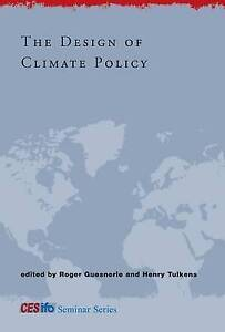 The Design of Climate Policy, Roger Guesnerie