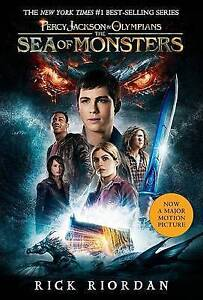 PERCY JACKSON SEA OF MONSTERS - Book 2 By Rick Riordan