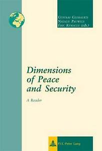 Dimensions of Peace and Security, Gustaaf Geeraerts