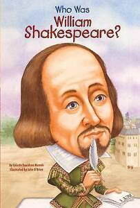 NEW Who Was William Shakespeare? (Turtleback School & Library Binding Edition)